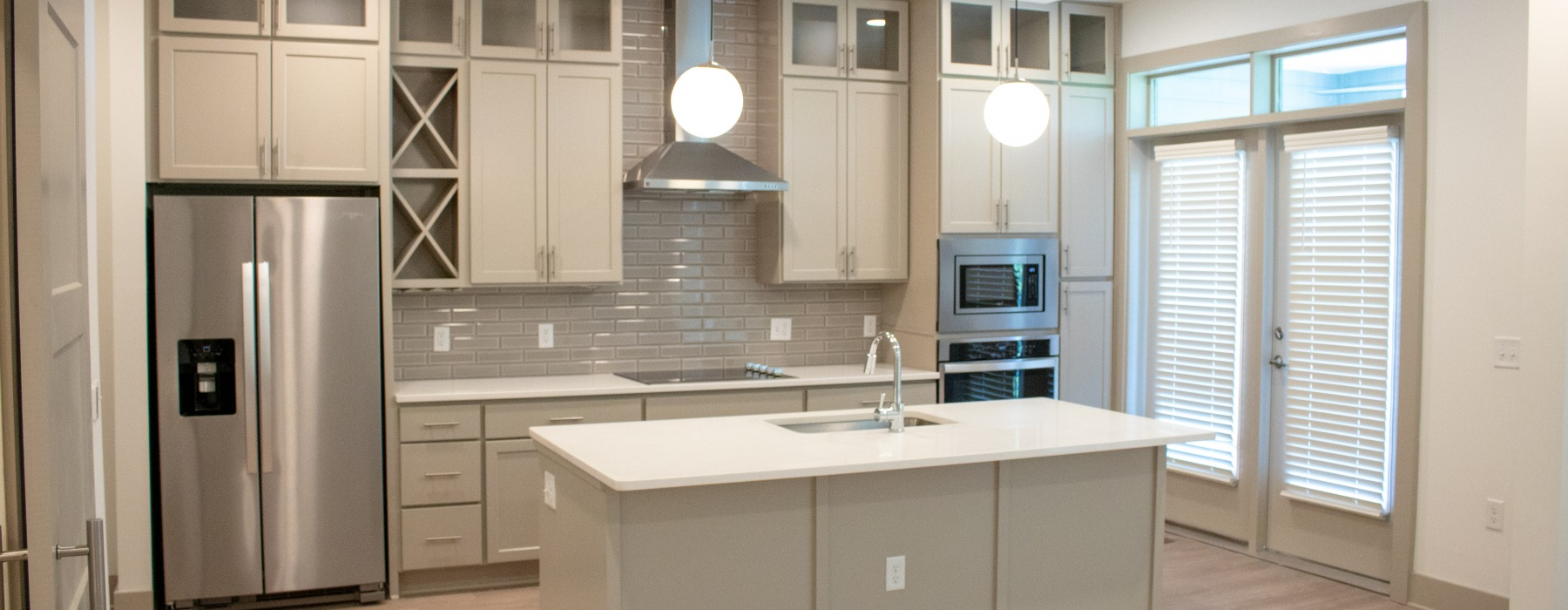 Spacious one-, two-, and three-bedroom floor plans at Towerview at Ballantyne Apartments